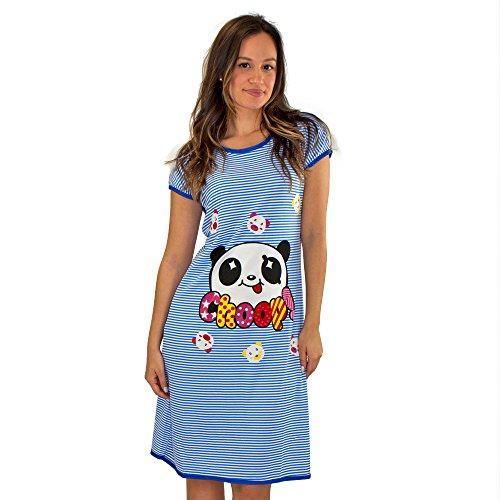 Real Essentials 1   3 Pack  Short Sleeve Nightshirt Sleep Shirt for Women  Below b0543daeb