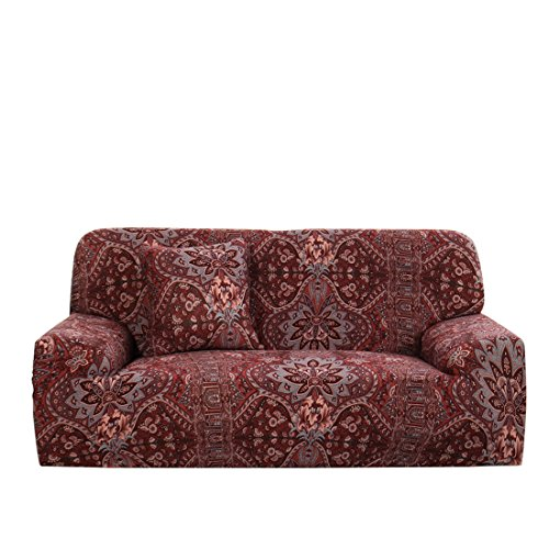 uxcell Stretch Sofa Cover Couch Cover 2 Seater Polyester Spa
