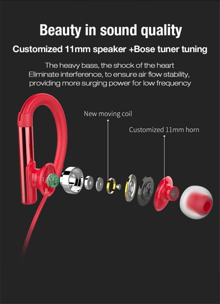 BANNAB in-Ear Auriculares inalámbricos Bluetooth Deportes Corriendo Auricular Impermeable Adecuado para Deportes de Las Mujeres, Compatible con iOS, ...
