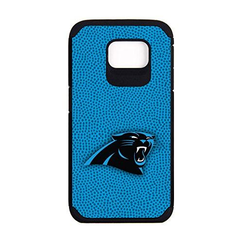 NFL Carolina Panthers Football Pebble Grain Feel Samsung Galaxy S6 Case, Team Color