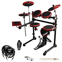 ddrum DD1-KIT-1 Complete Electronic Drum Kit with Earbuds, Cables Drumsticks