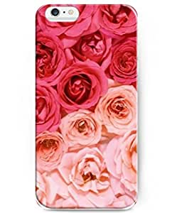 iPhone 6 Case (4.7inch), UKASE Hard Back Cover Skin Cases with Cool Painting of Red and Pink Roses by mcsharks