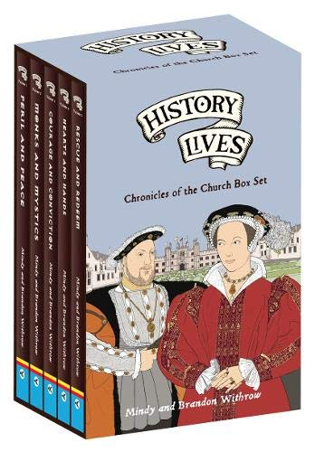 History Lives Box Set: Chronicles of the Church: Withrow, Mindy, Withrow,  Mindy: 9781845508142: Amazon.com: Books