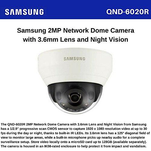 Samsung QND- 6020R 2MP Network IR Dome Camera