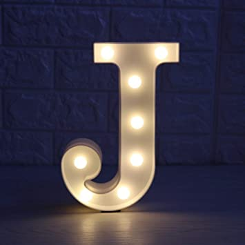 focux led marquee letter lights alphabet light up sign for home party birthday wedding bar decoration