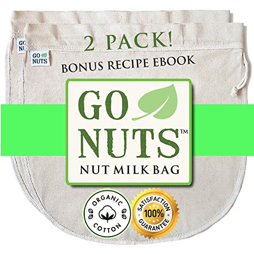 2 PACK ORGANIC COTTON Nut Milk product image