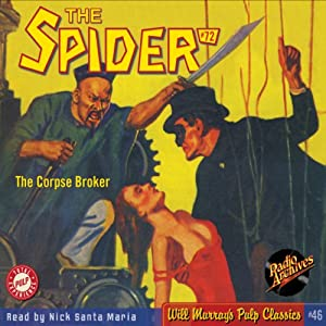 Spider #72 September 1939 (The Spider) Audiobook