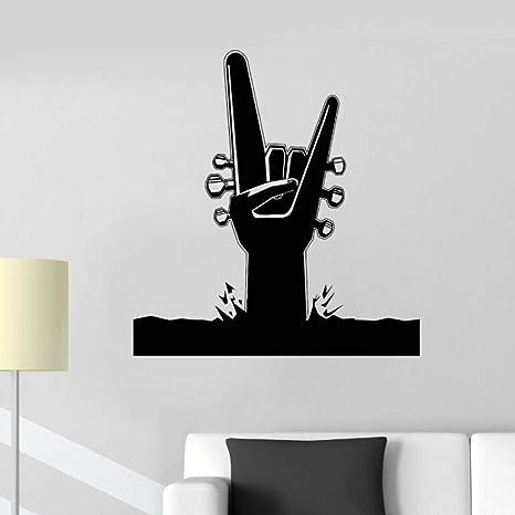 Cooldeerydm vinilo apliques de pared música arte hard rock ...