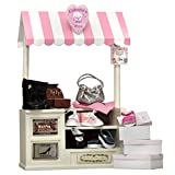 18 In Doll Furniture, COMPLETE Interchangeable Cinderella's Shoe Shop, Signs, Cash Register, Money, Shoes, Boots & Hand Bag