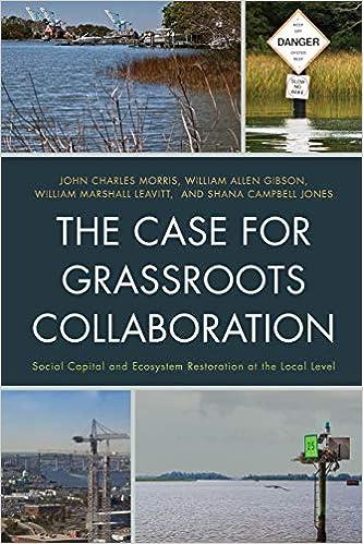 the case for grassroots collaboration morris john charles gibson william allen leavitt william marshall jones shana campbell