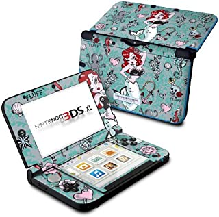 product image for Molly Mermaid - DecalGirl Sticker Wrap Skin Compatible with Nintendo Original 3DS XL