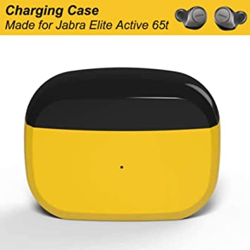Replacement Charging Case Compatible With Jabra Elite Active 65t And Jabra Elite 65t Charger Case Only Earbuds Not Included Protective Substitute Cover With Built In Battery Amazon Ca Electronics