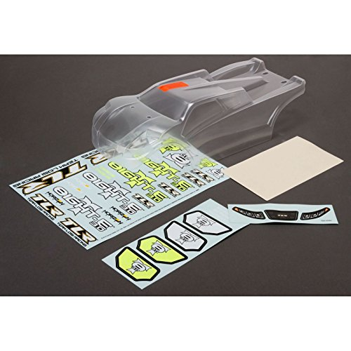 - Team Losi Racing Body, Clear: 8IGHT-T E 3.0, TLR240006