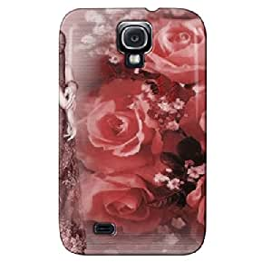 ROSES FOR YOU Red Protective Hard Case For Sumsang Galaxy S4