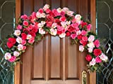 Wedding Ceremony Swag, Floral Arch Swag, Bridal Swag, Wedding Decor, Window Swag,
