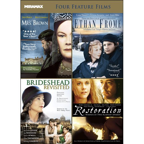 Miramax Critic's Choice V.2: Her Majesty, Mrs. Brown / Ethan Frome / Brideshead Revisited / Restoration