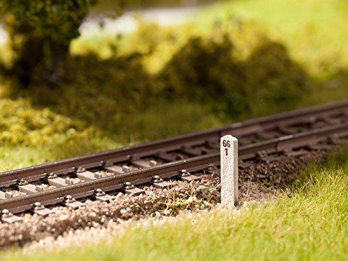Noch - 14300 - Modélisme Ferroviaire - Bornes Kilométrique - 20 Pièces - Laser-Cut Minis
