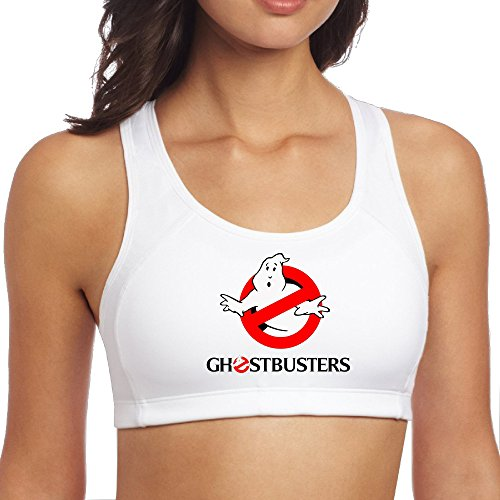 XJBD Women's Particular Ghostbusters Sports Vest White