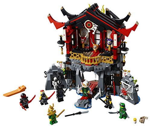 00d35d2c36867 SHOPUS | LEGO NINJAGO Temple of Resurrection 70643 Building Kit (765 ...