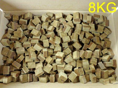 8KG Holz & Wachs Anzünder Anzündwürfel ca. 1350 Stück