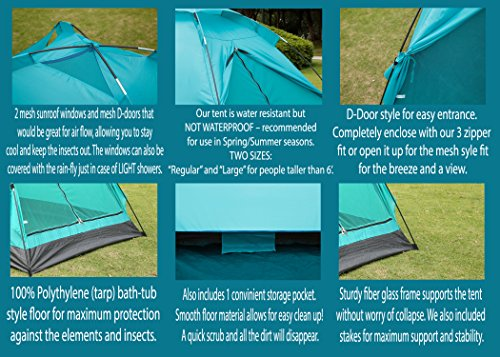 Camping-Tent-Outdoor-Travelite-Backpacking-Light-Weight-Family-Dome-Tent-2-Person-2-Season-Instant-Portable-Shelter-Easy-Set-Up-By-Alvantor