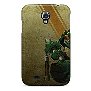 Samsung Galaxy S4 Eal15257ZLsI Support Personal Customs Trendy Ninja Turtles Series Protective Hard Cell-phone Cases -AlissaDubois