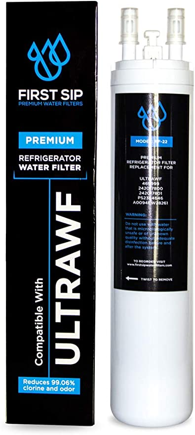 First Sip Refrigerator Water Filter Advanced Filtration Compatible with 469999 242017800 242017801 PS2364646 A0094E28261