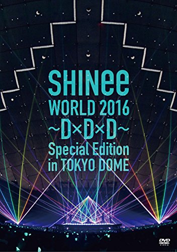 SHINee / SHINee WORLD 2016-D×D×D-Special Edition in TOKYO DOME [通常版]の商品画像