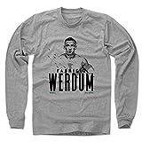 500 LEVEL's Fabricio Werdum Long Sleeve T-Shirt M Heather Gray Officially Licensed by Fabricio Werdum - Fabricio Werdum Paint K