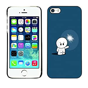 LECELL -- Funda protectora / Cubierta / Piel For Apple iPhone 5 / 5S -- Cute Cute Dude --