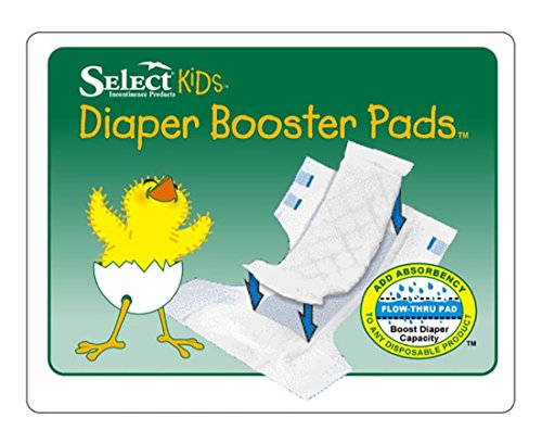 Tranquility® Diaper Doubler Booster Pads, 11-1/2'' x 3-1/4'' - 1/Pack of 30 by Tranquility