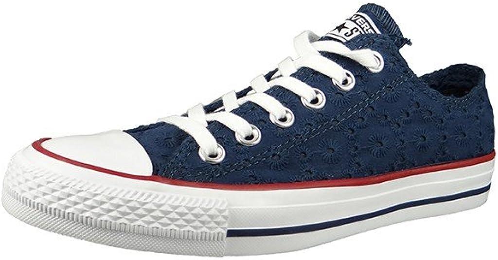 No pretencioso diamante tienda de comestibles  Amazon.com: Converse All Star OX Mujer Zapatillas Azul, Azul, 41 EU: Shoes