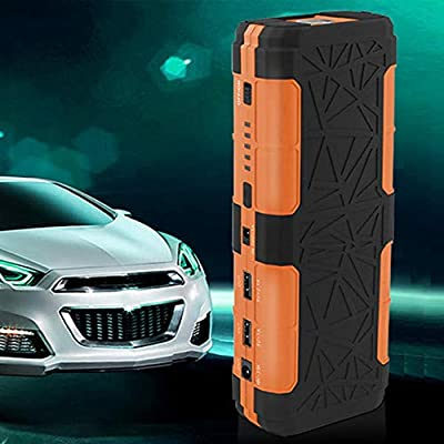 Qewmsg 12V 82800mAh Portable Car Jump Starter with Flash Light Dual USB Output