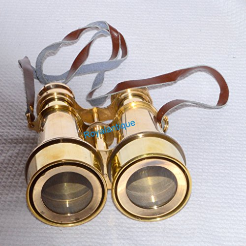 ANTIQUE BRASS OPERA THEATER GLASSES BINOCULAR-NAUTICAL VINTAGE GIFTED BINOCULAR