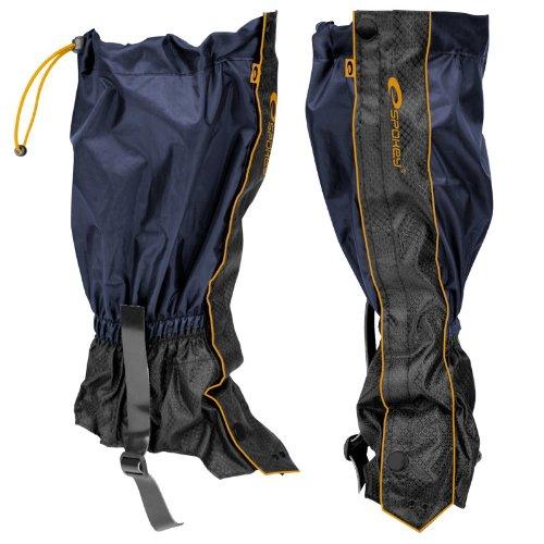 Spokey Scout/Infantry (Sirven Polainas Soporte manguito protectora Nordic Walking Trekking Senderismo Jardín Exterior), unisex, color Negro, tamaño talla única