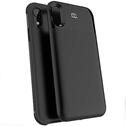 Amazon.com: Funda de batería para iPhone inalámbrico ...