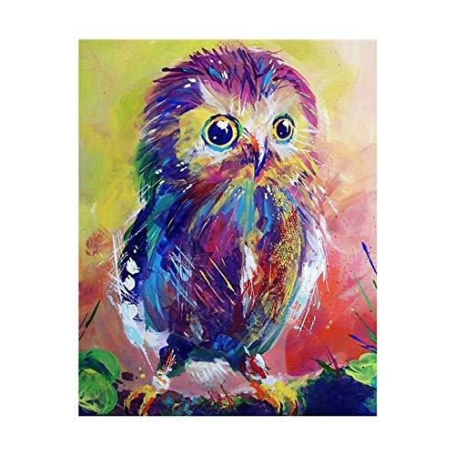 lightclub Owl Butterfly Bird DIY Full Diamond Painting Cross Stitch Embroidery Wall Decor 8602]()