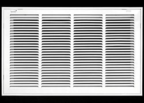 Persianas de Rejilla de Salida de Aire de bisagra de Puertas Tapa del Tubo de ventilaci/ón del Aire acondicionad para Paredes Laterales y techos Rejilla de Retorno de Aire Acondicionado con Filtro