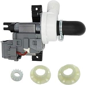 Siwdoy W10536347 Washer Drain Pump and W10820039 Hub Kit Compatible with Whirlpool Maytag Washer Replaces W10155921 W10049390 W10217134 AP5650269 W10281682 280145