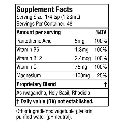 Active Adrenal - Advanced Adrenal Fatigue Supplement   All-Natural Liquid Formula for 2X Absorption   Ashwagandha, B-Vitamins, Magnesium & More by Active Adrenal (Image #1)