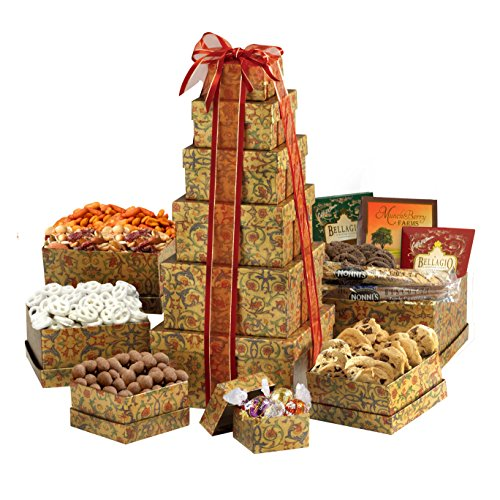 Broadway Basketeers Ultimate Gourmet Gift (Gourmet Gift Tower)