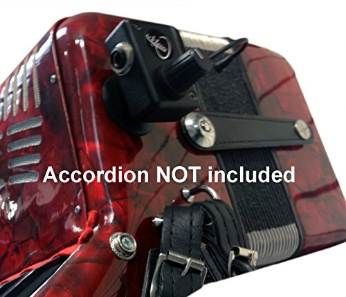 (ACCORDION PICKUP, with FLEXIBLE MICRO-GOOSE NECK by Myers Pickups)