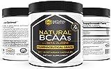 Natural Stacks Natural BCAAs w/Beta-Alanine Capsules (120 Count) - Amino Acids - Vegetarian