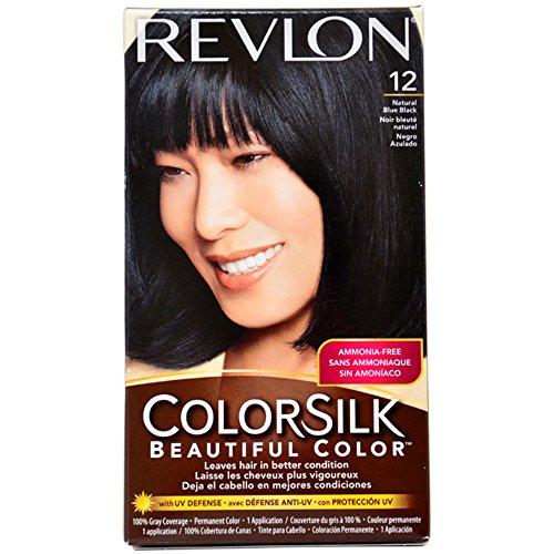 Revlon Colorsilk Permanent Color, Natural Blue Black