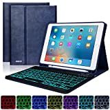 Best Ipad Air Case With Keyboard Bluetooth Backlits - BAIKEN iPad 9.7 Keyboard Case with Pencil Holder Review