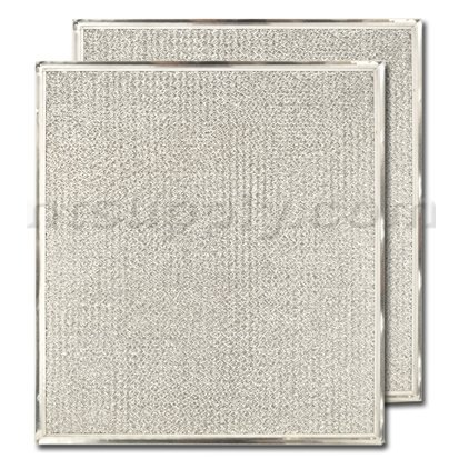 Replacement GE WB2X8422 Aluminum Range Hood Filter 2 Pack