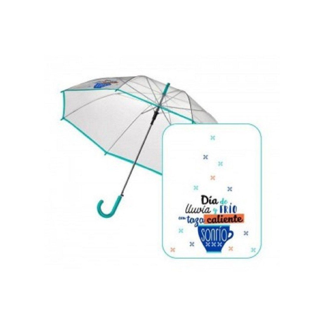 Paraguas 58 cms. automático Baggy TAZA M.VD# AST6330: Amazon.es: Juguetes y juegos