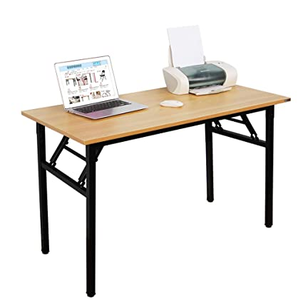Superbe Need Computer Desk Office Desk 47u0026quot; Folding Table Computer Table  Workstation No Install Needed,