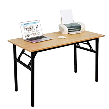 foldable office table. Need Computer Desk Office 47\u0026quot; Folding Table Workstation No Install Needed, Foldable A