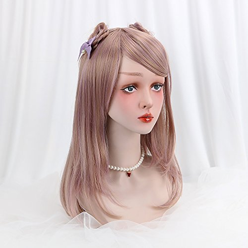 Lolita Long Blonde Cosplay Wig-Synthetic Natural Looking Women